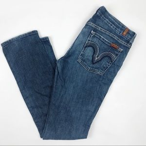 7 For All Mankind | Kate Straight Leg Jeans